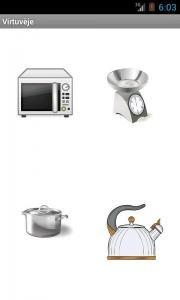 Virtuvėje