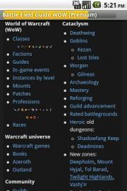 Battle Field Guide WOW