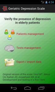 Geriatric Depression Scale