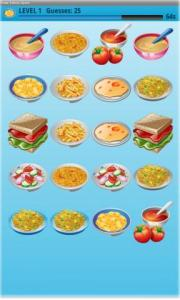 Food Dishes Game