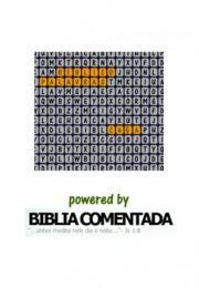 Caça Palavras Bíblico