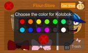 Draw a way for Kolobok