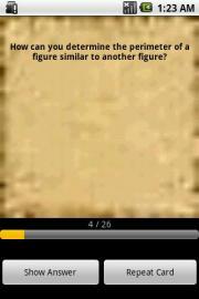 GRE Math Flash cards
