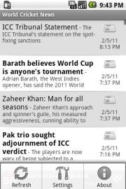 World Cricket News