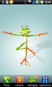 Dancing Frog Live Wallpaper