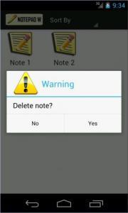 Notepad W