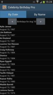 Celebrity Birthday Pro
