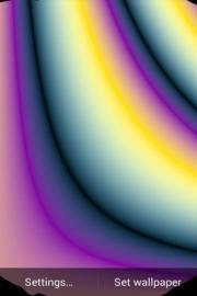 Iris Rainbow Live Wallpaper