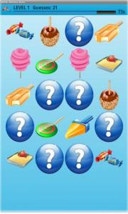 Sweets Memory Game