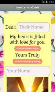 Love Letter eCards