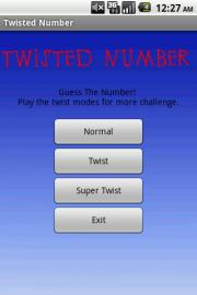 Twisted Number
