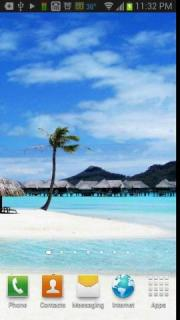 Tropical Beach Paradise Free Live Wallpaper