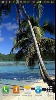 Tropical Beach Paradise Free Live Wallpaper
