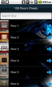 100 Floors Cheats