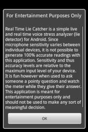 Pocket Lie Detector