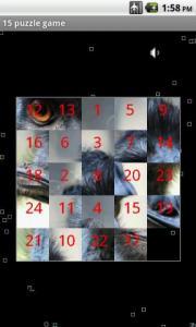 15 puzzle game