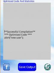Javascript Optimiser & Compiler