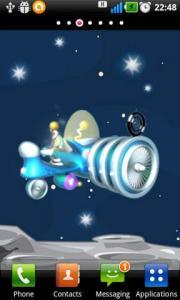 Spaceship Live Wallpaper