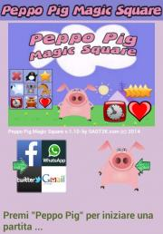 Peppo Pig Magic Square
