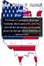 USA Capitals Trivia