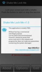 Shake Me Lock Me