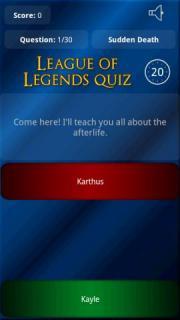 League of Legend Quiz