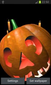 Pumpkin 3D Live Wallpaper