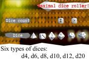 Maximal dice roller