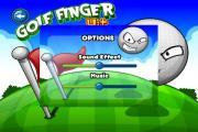 Golf Finger Hit Gold