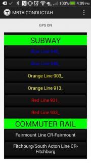 MBTA Conductor