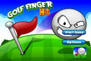 Golf Finger Hit