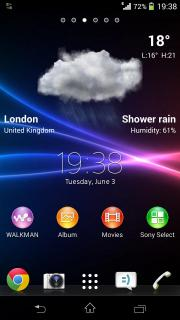 Lockscreen Weather Widget