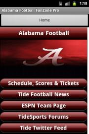 Alabama Football FanZone Free
