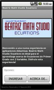 Beatriz Math Studio Equations