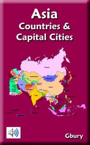 Learn Asia Countries And Capital Cities