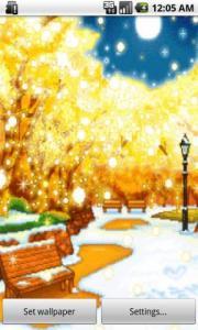 Fairy Falling Snow LWP
