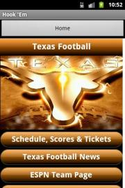 Texas Football FanZone Free