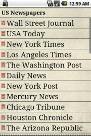 US Newspapers