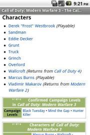 Battle Field Guide CODMW3