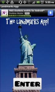 Landmarks App