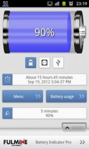 Battery Indicator Pro