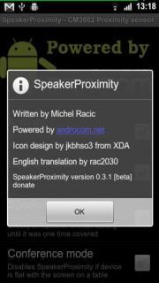 SpeakerProximity
