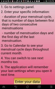 Intimate Calendar