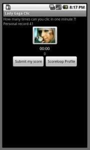 Lady Gaga Clic