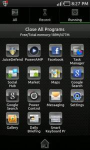 Glass Metal Theme Go Launcher Ex