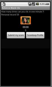 Rebecca Black Clic
