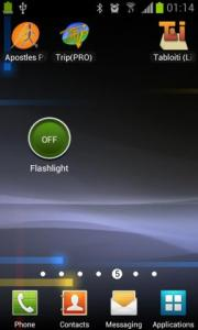 Tabloiti LED Flashlight Widget