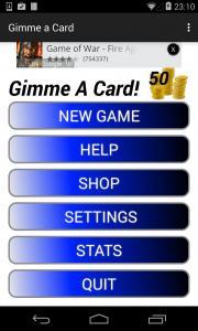 Gimme a Card