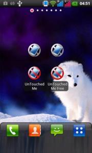 UnTouched Me