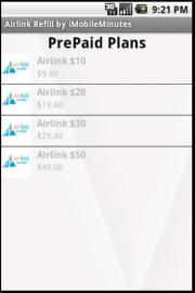 Airlink PrePaid Plans by iMobileMinutes